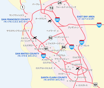 Search Map - San Jose